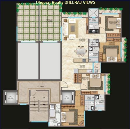 Views Floor Plan III