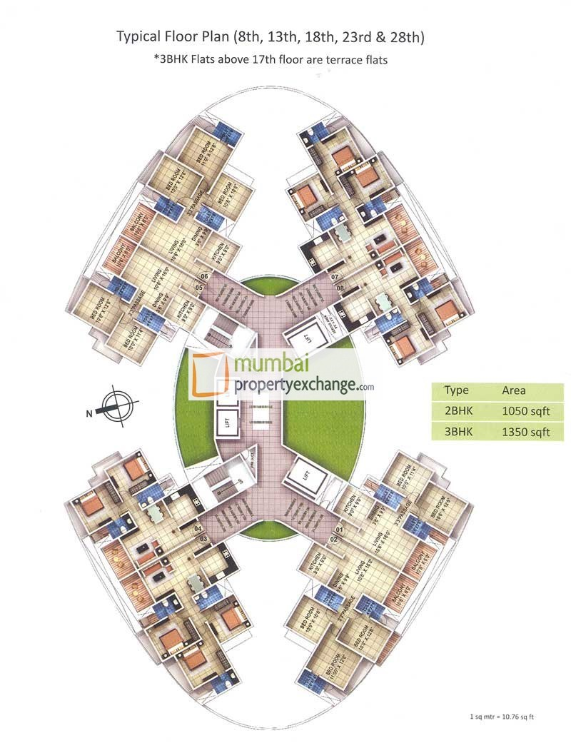 Rosa Bella Floor Plan I