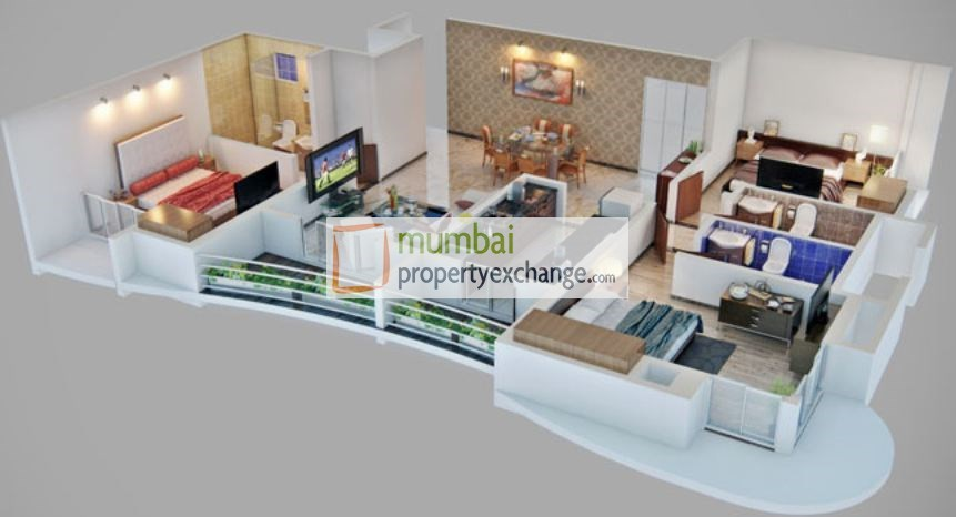 Hubtown Siddhi Floor Plan