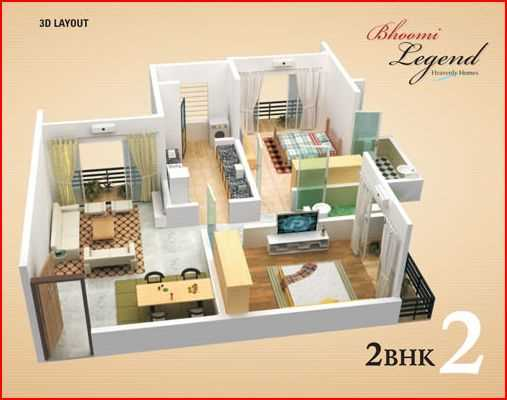 4656 Oth Floor Plan I - Bhoomi Legend, Kandivali East