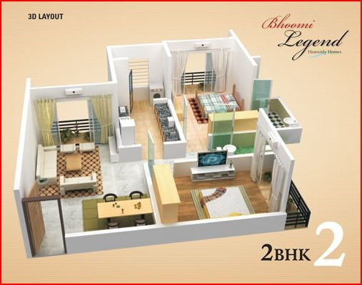 Bhoomi Legend Floor Plan I