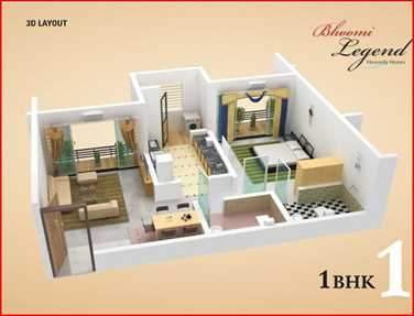 4656 Oth Floor Plan I 1  - Bhoomi Legend, Kandivali East