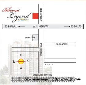 Bhoomi Legend Location Map