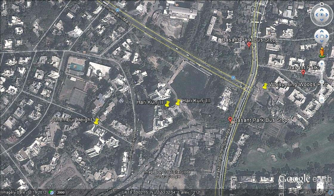 Hari Kunj III Google Earth