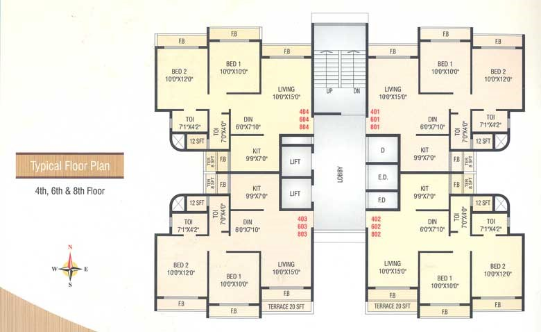 Fortune Heights Floor Plan II