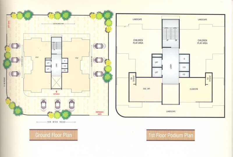 Fortune Heights Floor Plan V