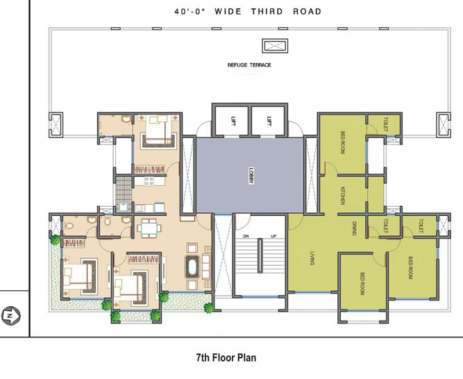 Ramee Heights Odd Floor Plan