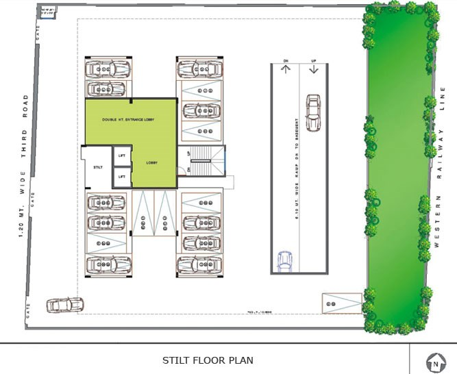 Ramee Heights Stilt Floor Plan