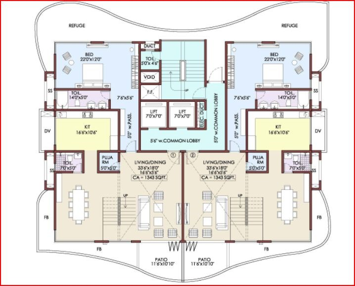 Yoga Floor Plan I