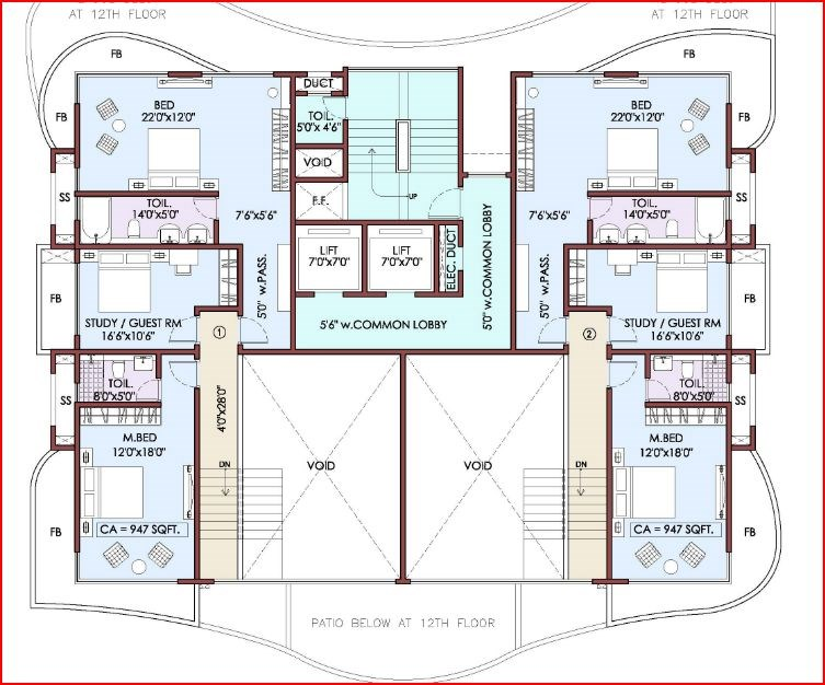 Yoga Floor Plan II