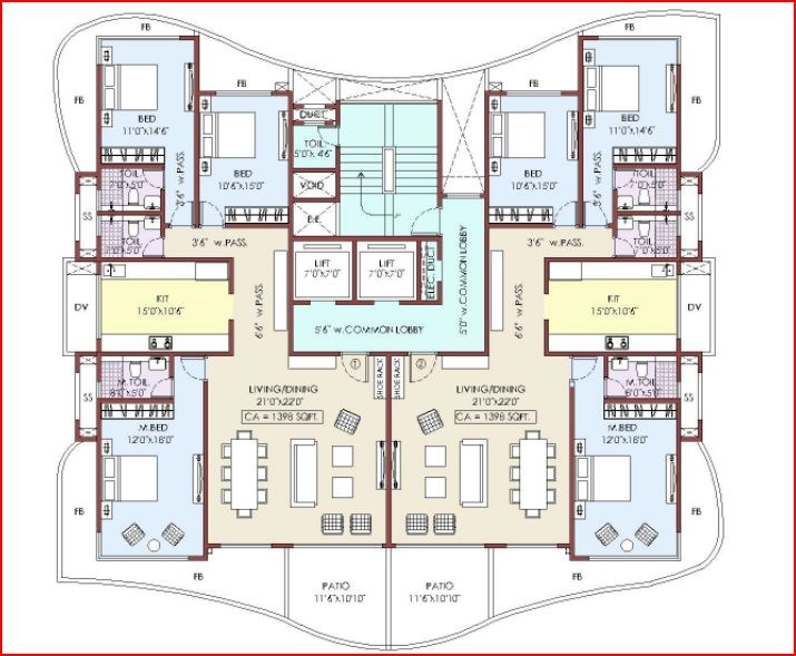Yoga Floor Plan III