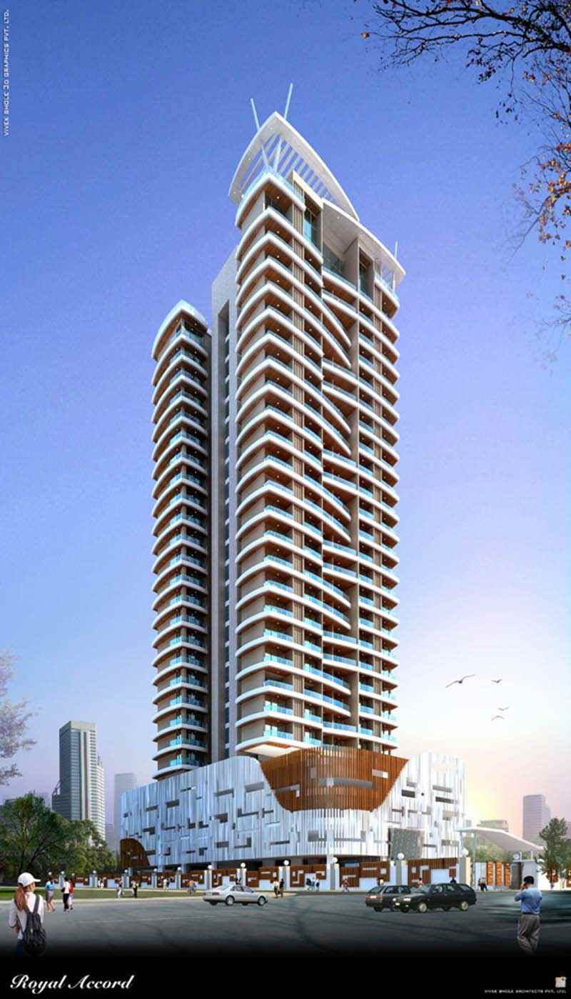 Flat on rent in Royal Accord, Malad West