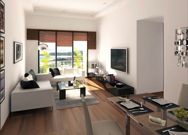 2 BHK Living Room