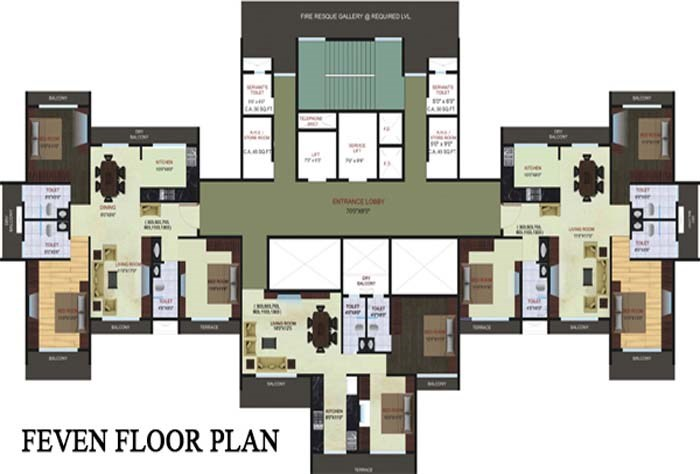 Blue Bay Floor Plan 3