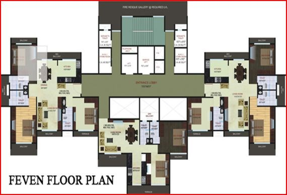 Blue Bay Floor Plan 4