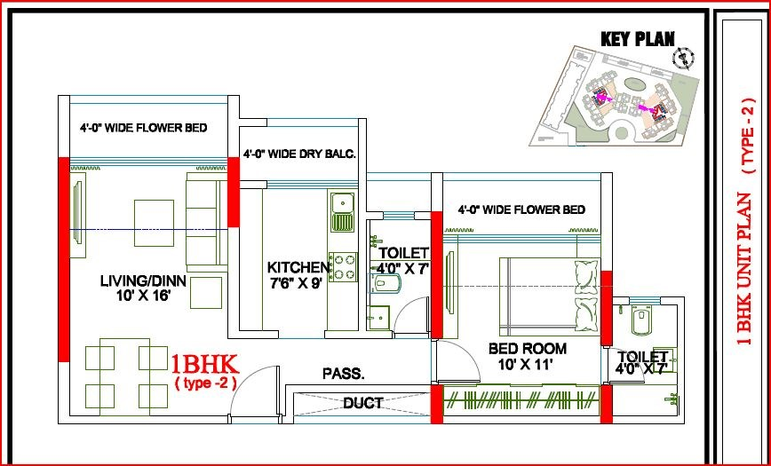 Evershine Meadows Floor Plan II