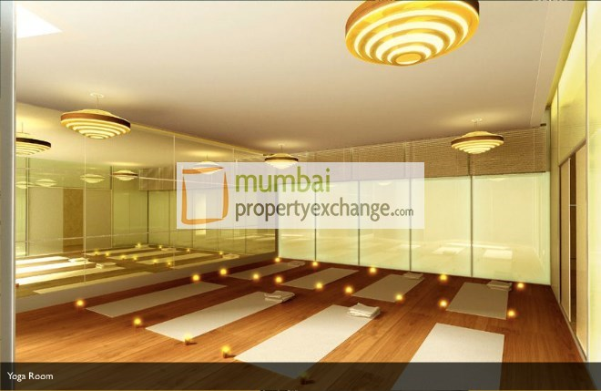 Ahuja Tower  Yoga Room