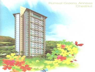 Flat on rent in Runwal Greens, Mulund West