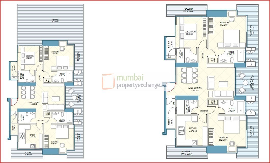 Crescent Aria Floor Plan 10