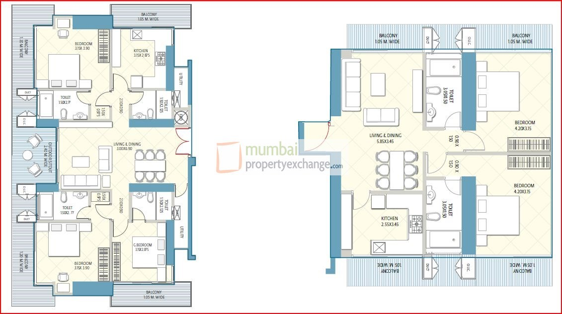 Crescent Aria Floor Plan 11