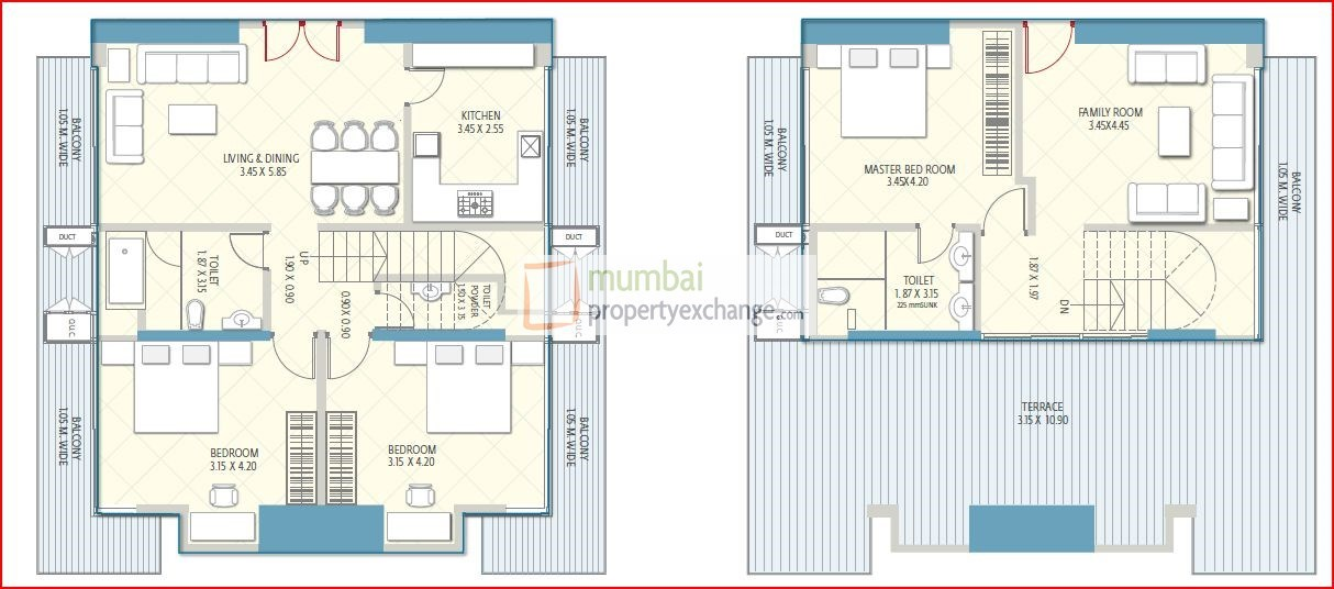 Crescent Aria Floor Plan 16