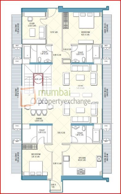 Crescent Aria Floor Plan 2