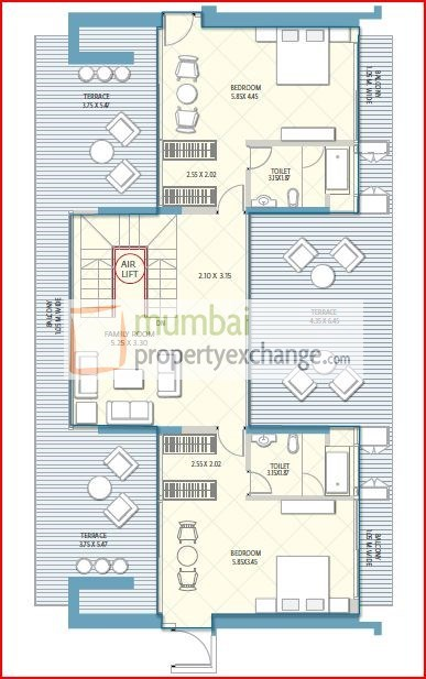 Crescent Aria Floor Plan 3