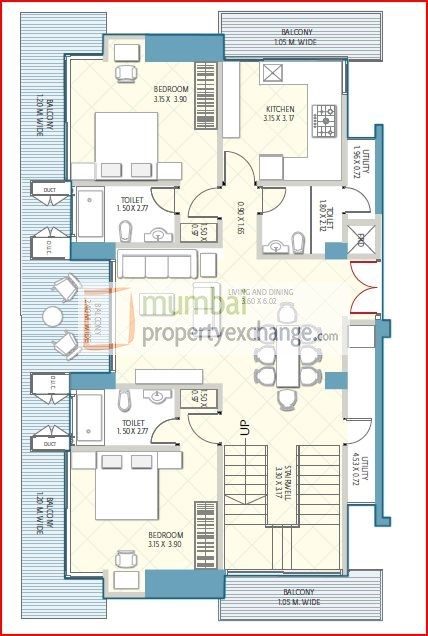 Crescent Aria Floor Plan 4