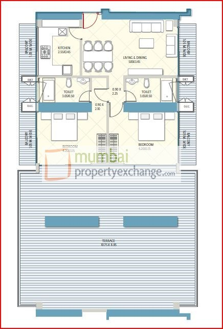 Crescent Aria Floor Plan 6