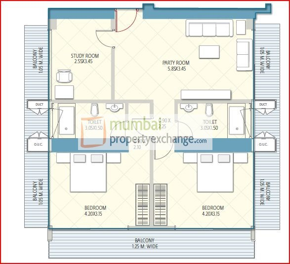 Crescent Aria Floor Plan 7