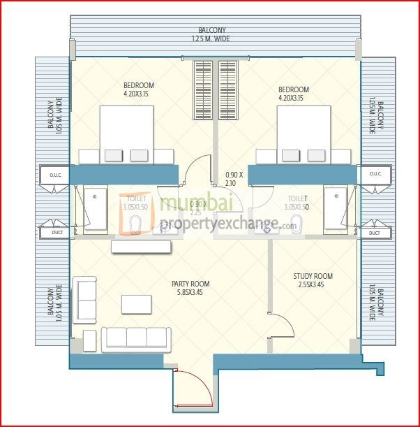 Crescent Aria Floor Plan 9