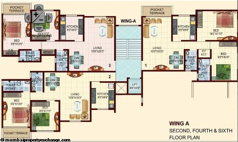 Kingston Annex Floor plan 2