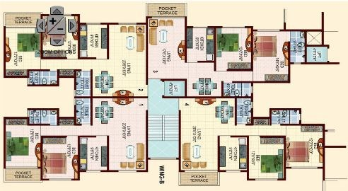 Kingston Annex Floor plan 4