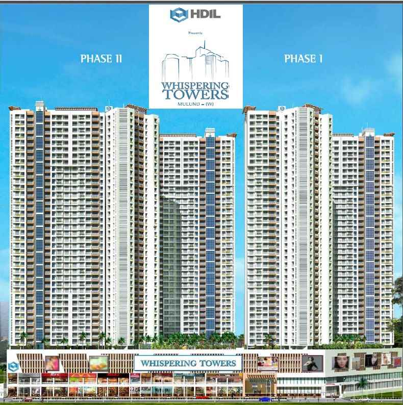 Flat for sale in Whispering Towers, Mulund West