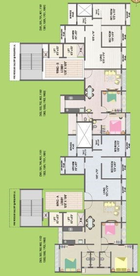 Green Palms Floor plan 2