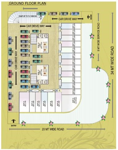 Green Palms Floor plan 3