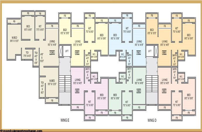 Devshrishti Floor Plan