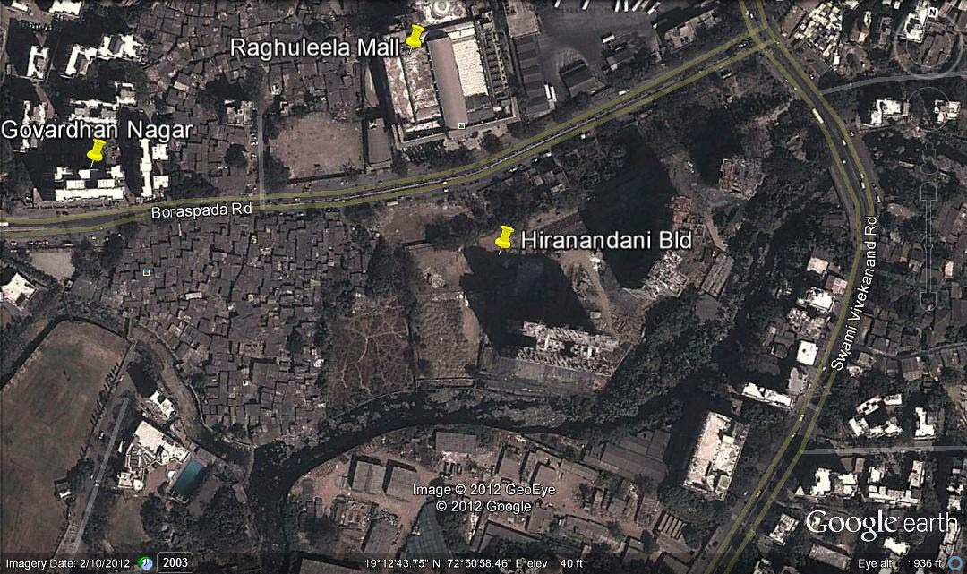 Hiranandani Heritage Estonia Google Earth