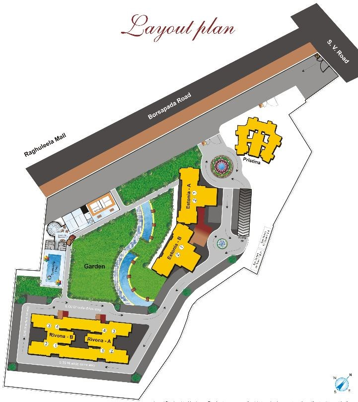 Hiranandani Heritage Estonia Layout plan