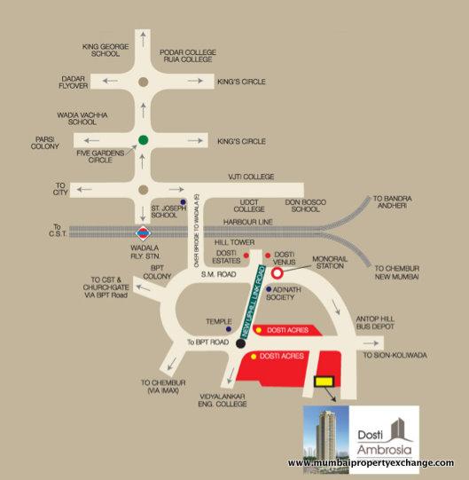 4841 Oth Google Location - Dosti Ambrosia, Wadala