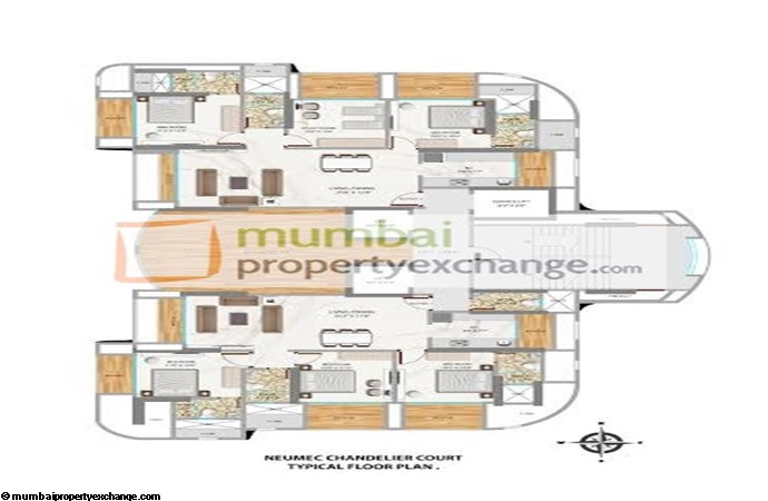Chandelier Court Floor plan