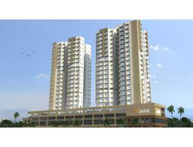 Flat for sale in X Point, Kandivali West