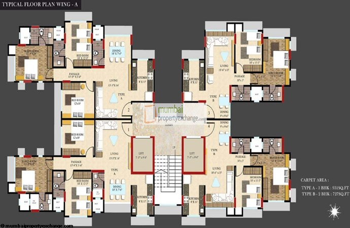 X Point Floor Plan