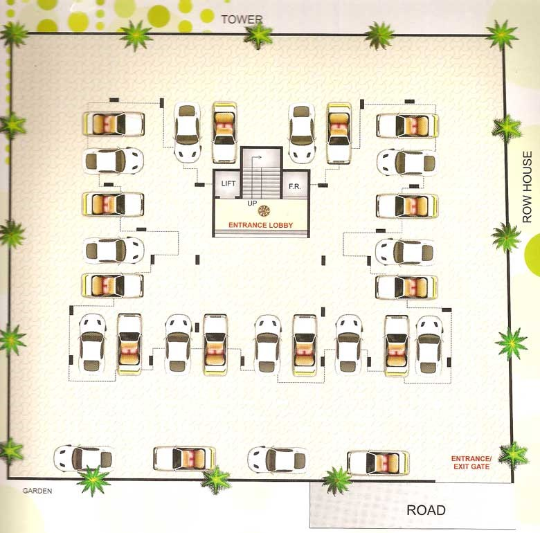 Shree Rajal Garden Floor Plan II