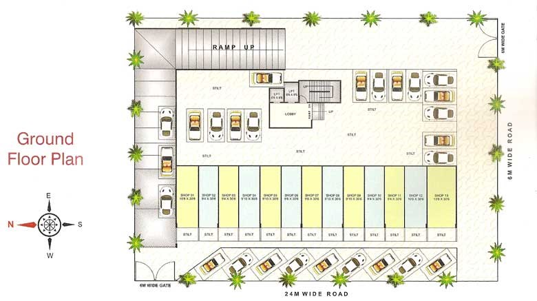 Millennium Icon Floor Plan I