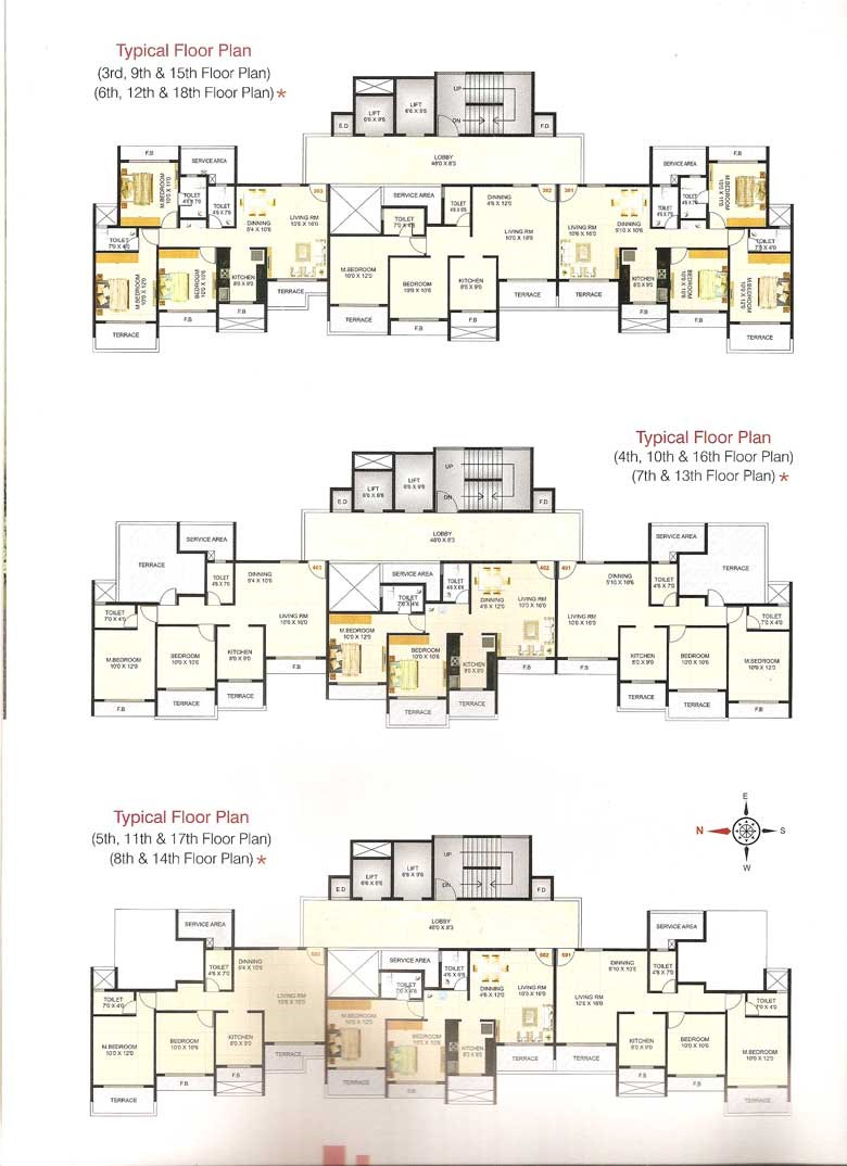Millennium Icon Floor Plan III