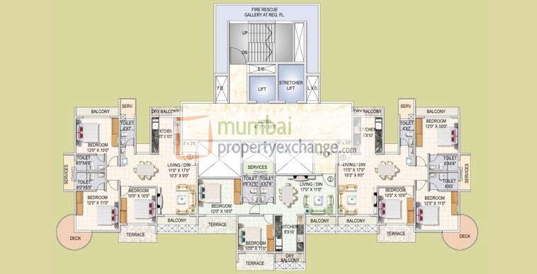 Sai Solitaire Floor Plan IV