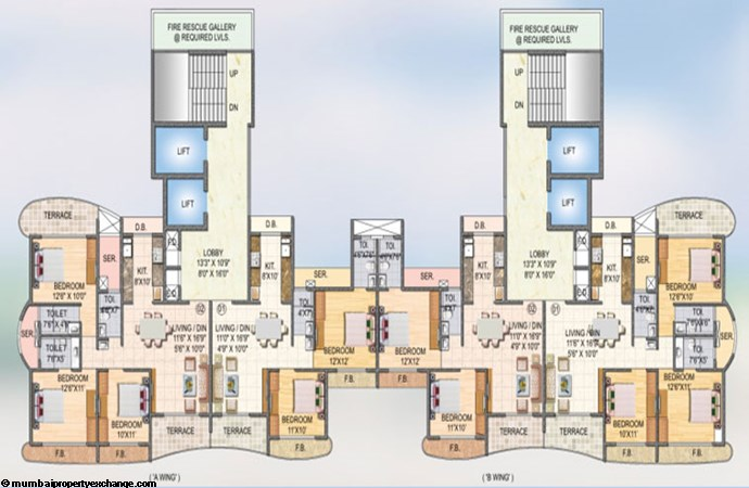 Sai Miracle Floor Plan 5