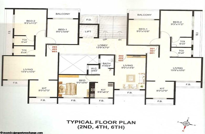 Gulmohar Floor Plan 2