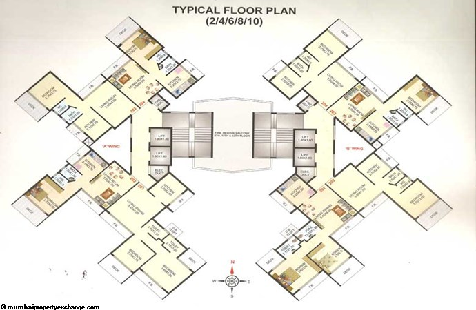Maitri Planet NX Floor Plan 1
